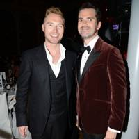 Ronan Keating and Jimmy Carr