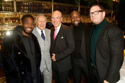 Tinie Tempah, Harold Tillman, Dylan Jones, Dumi Oburota and Mark Wogan