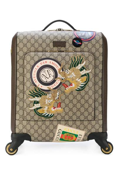 Courrier GG Supreme carry-on by Gucci