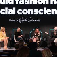 Philippa Price, Nils Leonard, and Munroe Bergdorf in conversation with Jack Guinness