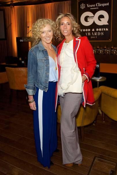 Kelly Hoppen and Tara Bernerd