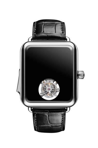 H. Moser & Cie. Swiss Alp Watch Concept Black