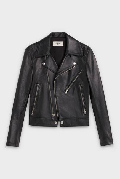 3. The leather jacket