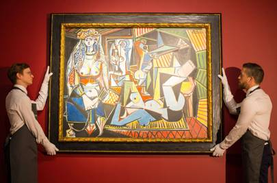 """Pablo Picasso's Les Femmes d'Alger (Version """"O"""")"""