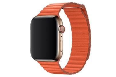 Apple Sunset Leather Loop