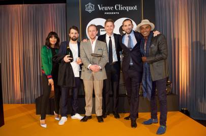 Claudia Winkleman, Merlin Labron-Johnson, Stuart Andrew, Will Lander, Daniel Morgenthau and Marcus Samuelsson