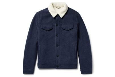 Loro Piana faux shearling jacket