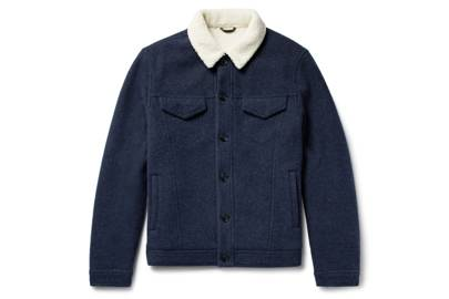 Loro Piana faux shearling jacket