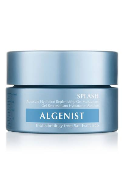 Splash Absolute Hydration Replenishing Gel Moisturiser by Algenist, £55. At spacenk.com