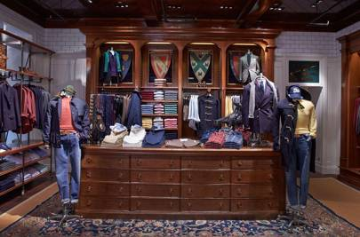 87a62c65e22 ... Americana-supplier J Crew and only a stone s throw from the superb  suiting on Savile Row - the new shop is a grand