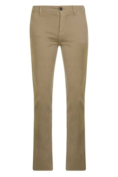 11. A pair of cuffed stone chinos