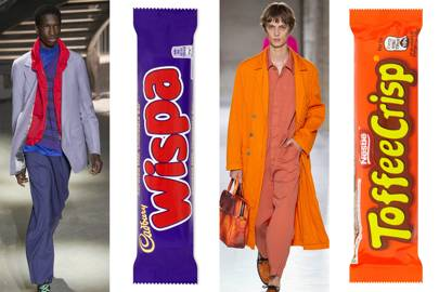 Why dressing like a chocolate bar is SS19's tastiest trend