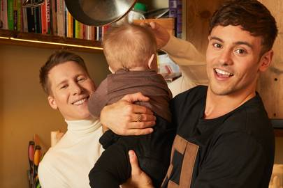 Tom Daley and Dustin Lance Black on what they wished they'd known about parenting