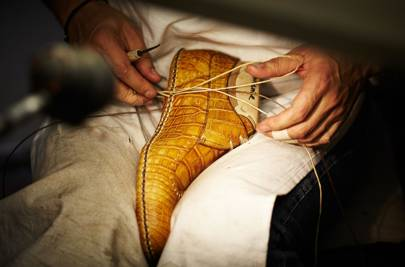 Berluti's shoemaking process