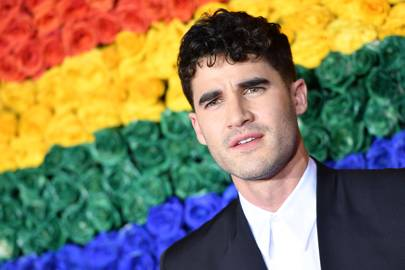 Darren Criss is proposing you ditch your tie this summer