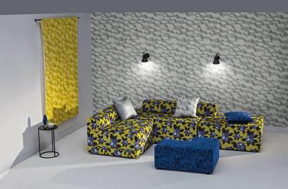 Fabrics by Eley Kishimoto x Kirkby Design