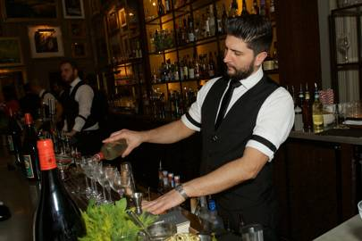 Serving Belvedere Vodka cocktails