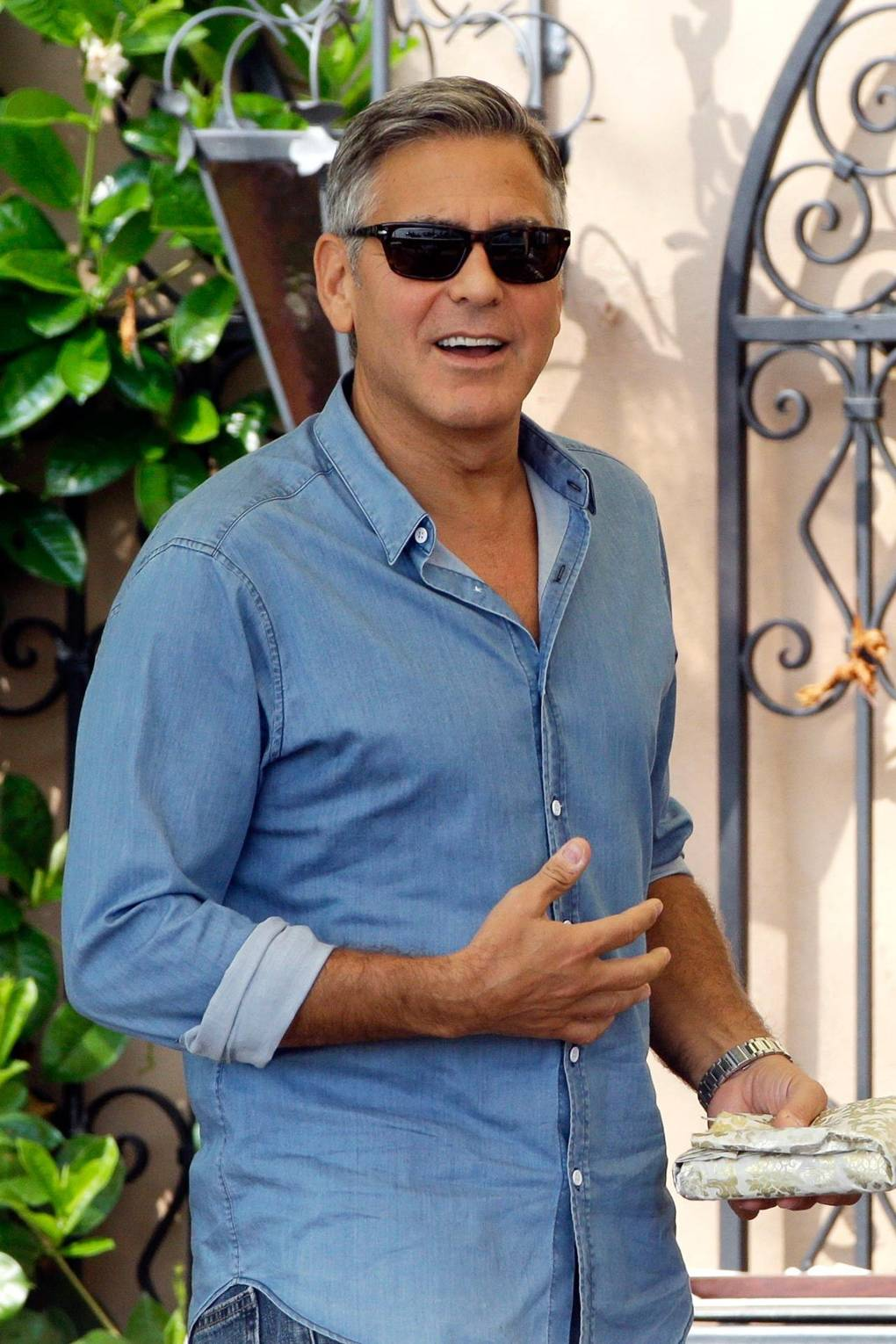 Assessing George Clooney\'s weekend of wedding attire | British GQ