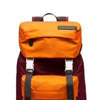 Orange backpack by Marni