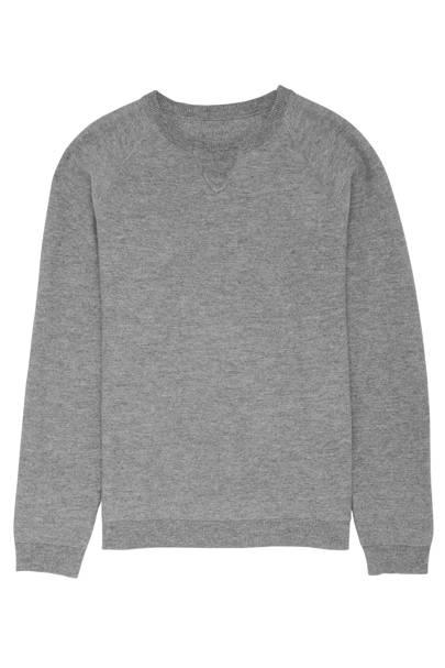 Grey crewneck jumper