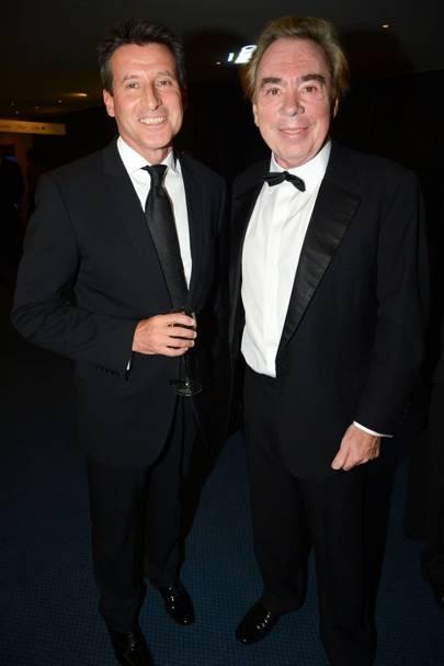 Sebastian Coe and Andrew Lloyd Webber