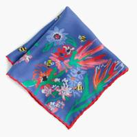 J Crew for Buglife 'Save the Bees' silk pocket square