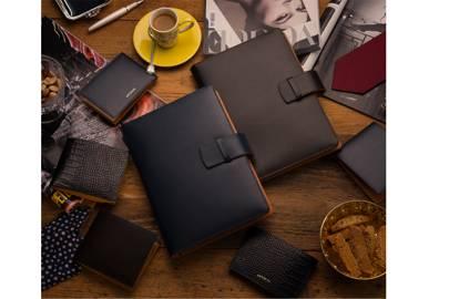 Leather A5 Portfolio by ANTORINI