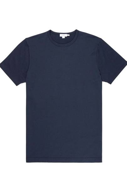 3. A couple of navy T-shirts