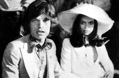 Mick Jagger marries Bianca Pérez-Mora Macias in Saint-Tropez, May 1971