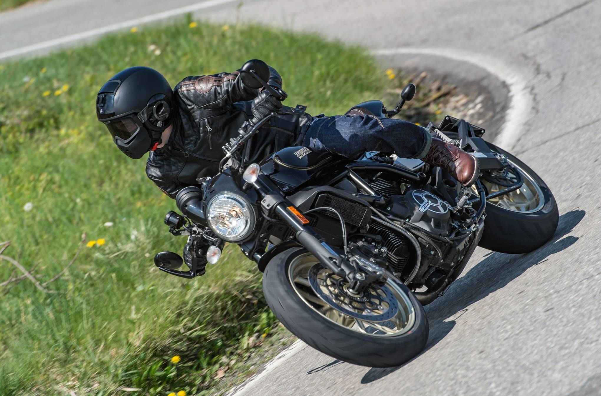 Ducati Scrambler Café Racer Review British Gq