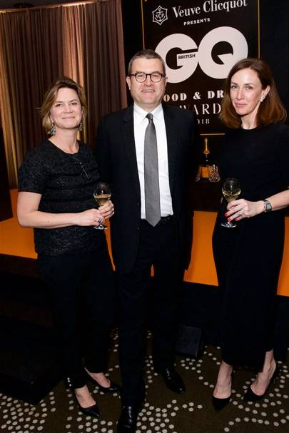 Julie Nollet, Bertrand Steip and Lorraine Larmer