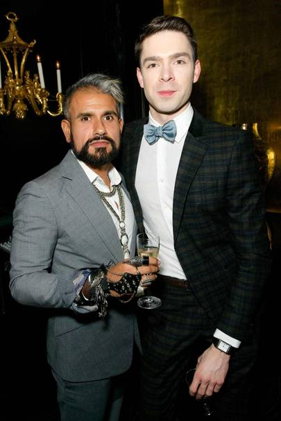Azim Majid and Alessandro Luca