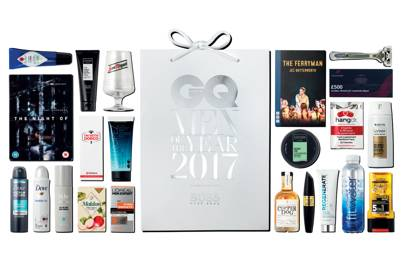 GQ goodie bags, worth more that £150, received by 850 guests