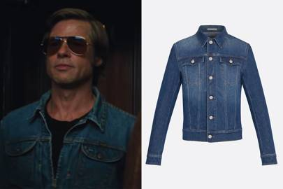 4. You can't go wrong with a denim shirt