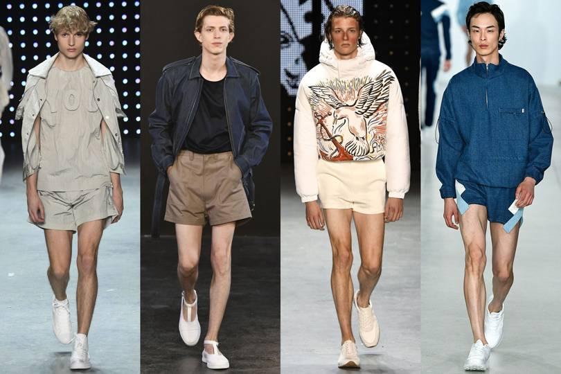 Short shorts: the latest men's summer fashion trend ...