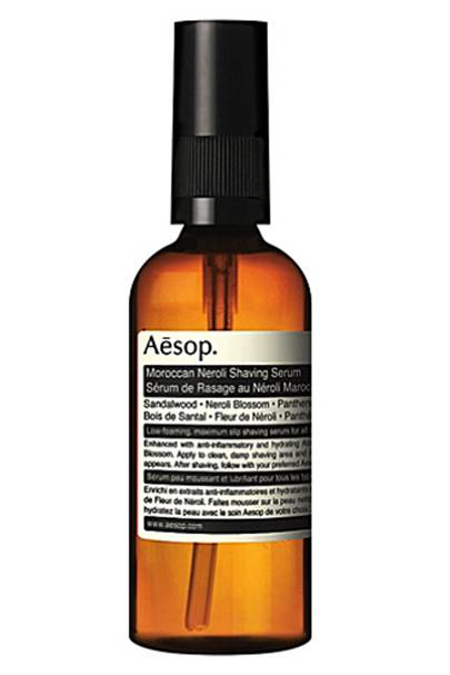 Moroccan Neroli shaving serum by Aesop