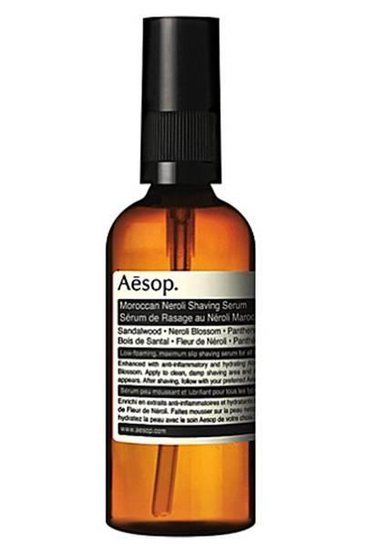 Moroccan Neroli shaving serum by Aesop
