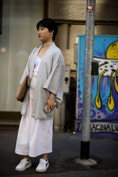 Street Style Cool Women At Milan Men S Fashion Week Ss18 British Gq