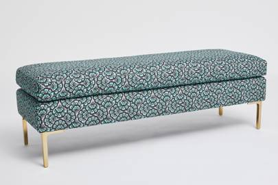 Liberty for Anthropologie Feather Fan Edlyn Bench