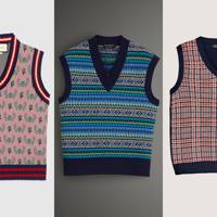 The return of the knitted vest