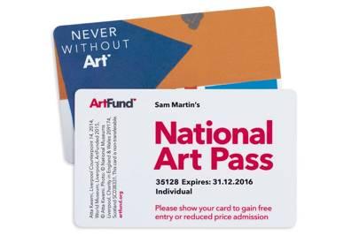 Art Fund National Art Pass
