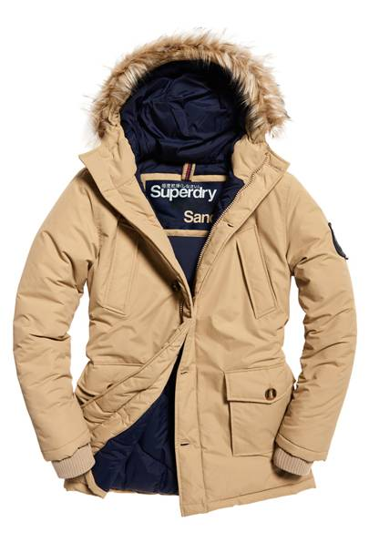 Padded parka by Superdry