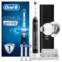 Genius 9000 Black Cross Action Electric Toothbrush by Oral-B