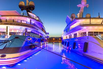 Superyacht Parties How To Behave And How To Get On Board British Gq