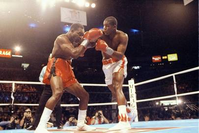 Evander Holyfield vs Riddick Bowe, 1992