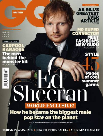 This article was first published in the March 2017 issue of GQ magazine