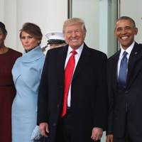 20 January 2017: Donald Trump becomes the 45th president of the United States