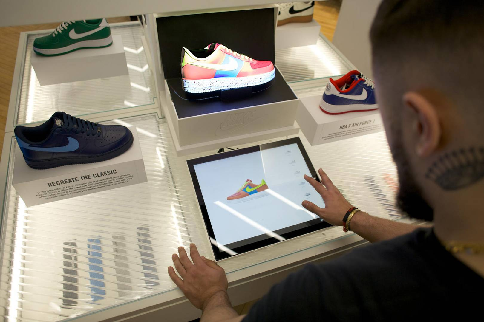dec7e7841bab The new Nike iD Direct Studio is the future of customised kicks ...