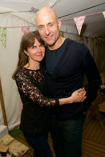 Liza Marshal and Mark Strong