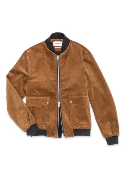 The suede jacket